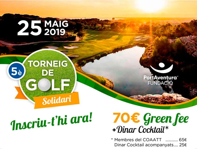 5è Torneig Golf Solidari PortAventura